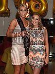 Karen Smith celebrating her 30th birthday with friend Grace Collier in Brú. Photo:Colin Bell/pressphotos.ie
