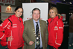 Paulina Mastalska and Maeve Gordon with Mayor Paul Bell at the Drogheda Motor Show...(Photo credit should read Jenny Matthews www.newsfile.ie)....This Picture has been sent you under the condtions enclosed by:.Newsfile Ltd..The Studio,.Millmount Abbey,.Drogheda,.Co Meath..Ireland..Tel: +353(0)41-9871240.Fax: +353(0)41-9871260.GSM: +353(0)86-2500958.email: pictures@newsfile.ie.www.newsfile.ie.