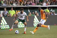 Portland, Oregon - Saturday, July 28, 2018: Portland Timbers vs Houston Dynamo in a match at Providence Park.