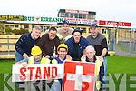 Workmen busy removing the signs before they demolished the dressing rooms and the Order of Malta room in Fitzgerald Stadium on Tuesday Front row Mike O'Sullivan  Killarney, Tom O'Heara Tralee, Michael O'Connor. Back row: Billy Doolan Kilcummin, Pa Sugrue Killarney, Daniel O'Sullivan Beaufort, Michael Crancher Killarney and Mike Stack Killarney    Copyright Kerry's Eye 2008