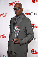 "LAS VEGAS, NV - APRIL 26: Recipient of the ""Cinema Icon Award"", Samuel L. Jackson  attends the CinemaCon Big Screen Achievement Awards at CinemaCon 2018 at The Colosseum at Caesars Palace on April 26, 2018 in Las Vegas, Nevada. (Photo by Frank Micelotta/PictureGroup)"