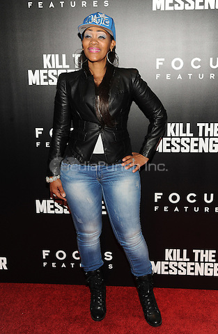 New York, NY- October 9: DJ Spinderalla attends the  'Kill the Messenger' New York Premiere at the Museum of Modern Art on October 9, 2014 in New York City. Credit: John Palmer/MediaPunch
