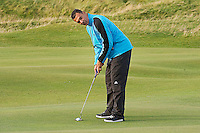 Picture:Scott Taylor Universal News And Sport (Europe) .Jamie Redknapp,  Ruud Gullit and Alan Hansen on the Old Course at St Andrews ahead of the Alfred Dunhill Links Championship which runs from the 4th to the 7th October on the Old Course, Carnoustie and Kings Barns courses, St Andrews, Scotland, 2nd October, 2012.   .All pictures must be credited to www.universalnewsandsport.com. (Office)0844 884 51 22.