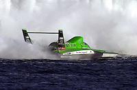 The U-99 Znetix, driver Terry Troxell..Hydros-PROP Bayfair,San Diego,CA,USA 9.17.2000.©F.Peirce Williams 2000..
