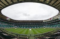 A general view of Twickenham Stadium, home of England Rugby<br /> <br /> Photographer Bob Bradford/CameraSport<br /> <br /> NatWest Six Nations Championship - England v Wales - Saturday 10th February 2018 - Twickenham Stadium - London<br /> <br /> World Copyright &copy; 2018 CameraSport. All rights reserved. 43 Linden Ave. Countesthorpe. Leicester. England. LE8 5PG - Tel: +44 (0) 116 277 4147 - admin@camerasport.com - www.camerasport.com