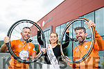 Launching the Cycle Against Suicide 'Tralee Spin Off' for Saturday, August 20th, l-r: Sean Ryan (Aspengrove), Danielle O'Sullivan (Kerry Rose) and Jim Breen (Cycle Against Suicide).