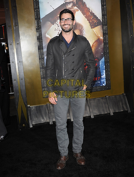 Tyler Hoechlin attends The Warner Bros. Pictures L.A. Premiere of 300 : Rise of an Empire held at The TCL Chinese Theatre in Hollywood, California on March 04,2014                                                                               <br /> CAP/DVS<br /> &copy;DVS/Capital Pictures