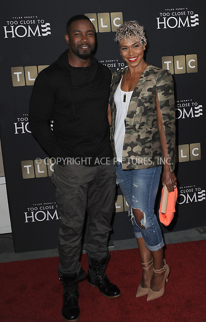 www.acepixs.com<br /> <br /> August 16 2016, New York City<br /> <br /> Actor Michael Jai White (L) and Gillian White arriving at a screening of 'Too Close To Home' at The Paley Center for Media on August 16, 2016 in Beverly Hills, California.<br /> <br /> By Line: Peter West/ACE Pictures<br /> <br /> <br /> ACE Pictures Inc<br /> Tel: 6467670430<br /> Email: info@acepixs.com<br /> www.acepixs.com