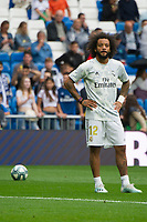Spanish league football league between Real Madrid vs Levante at Santiago Bernabeu stadium in Madrid on Septemberl 14, 2019.<br /> Real Madrid's player Marcelo