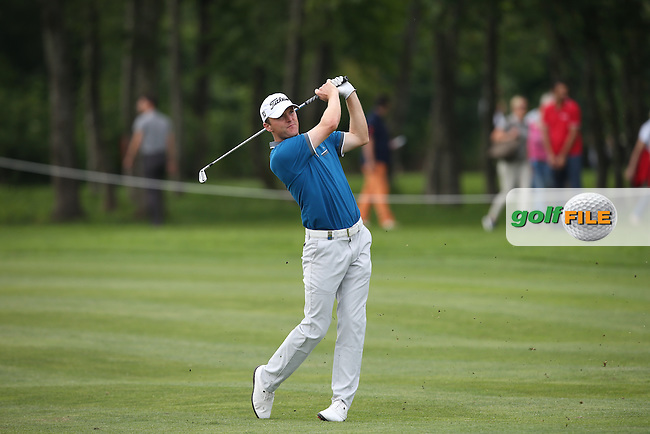 Playing approach shot to the 15th is Michael Hoey (NIR) during Round Three of the 2015 BMW International Open at Golfclub Munchen Eichenried, Eichenried, Munich, Germany. 27/06/2015. Picture David Lloyd | www.golffile.ie