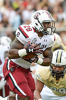 September 28, 2013 - Orlando, FL, U.S: South Carolina Gamecocks running back Mike Davis (28) during 1st half NCAA football game action between the South Carolina Gamecocks and the UCF Knights at Bright House Networks Stadium in Orlando, Fl