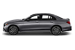 Car Driver side profile view of a 2019 Mercedes Benz E-Class AMG-E53 4 Door Sedan Side View