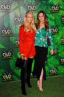 LONDON, ENGLAND - JANUARY 10: Lotti Moss and Emily Blackwell attending 'Cirque du Soleil - OVO' at the Royal Albert Hall on January 10, 2018 in London, England.<br /> CAP/MAR<br /> &copy;MAR/Capital Pictures