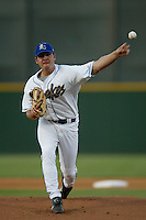 April 26 2004: Joe Saunders of the Rancho Cucamonga Quakes in action at The Epicenter in Rancho Cucamonga,CA.  Photo by Larry Goren/Four Seam Images