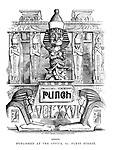 Punch Title Page, Vol XXVI, January to June 1854