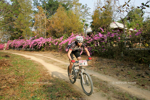 Chiang-Rai MTB Challenge 2009, rider A1-1 Kiichi MIYAJIM (photo Laurent Benchana/Nippon News)