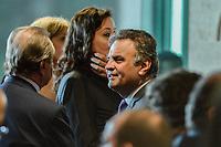 BRASÍLIA, DF, 22.03.2017 – POSSE-ALEXANDRE DE MORAES – O senador Aécio Neves durante cerimônia de posse de Alexandre de Moraes no Supremo Tribunal Federal, na tarde desta quarta-feira, 22, no Plenário do STF. (Foto: Ricardo Botelho/Brazil Photo Press)