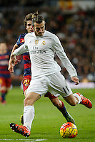 Real Madrid´s Gareth Bale during 2015-16 La Liga match between Real Madrid and Barcelona at Santiago Bernabeu stadium in Madrid, Spain. November 21, 2015. (ALTERPHOTOS/Victor Blanco) /NortePhoto