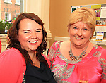 Ruth Clinton and Margaret Donohoe at the Civic Reception for the Florale Judges in the Tholsel Tourist Office..Picture: Shane Maguire / www.newsfile.ie.