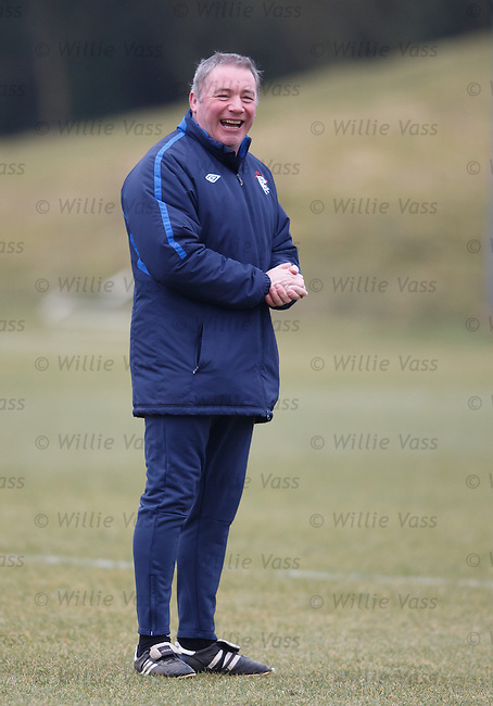 Ally McCoist pleased with his efforts after scoring