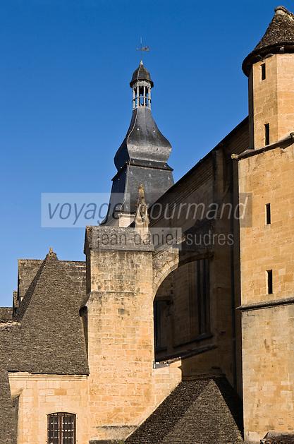 Europe/France/Aquitaine/24/Dordogne/Périgord Noir/Sarlat-la-Canéda: L'église  Saint-Sacerdos, ancienne cathédrale
