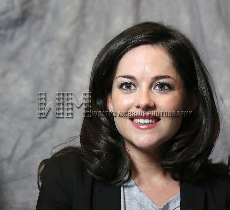 Sarah Greene attends the 2014 Tony Awards Meet the Nominees Press Junket at the Paramount Hotel on April 30, 2014 in New York City.