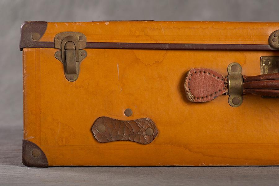 &copy;2016 Jon Crispin<br /> Willard Suitcases Project<br /> Mary A Mc
