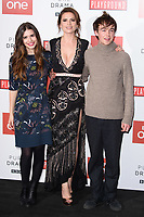 Philippa Coulthard, Hayley Atwell and Alew Lawther<br /> at the &quot;Howard's End&quot; screening held at the BFI NFT South Bank, London<br /> <br /> <br /> &copy;Ash Knotek  D3343  01/11/2017