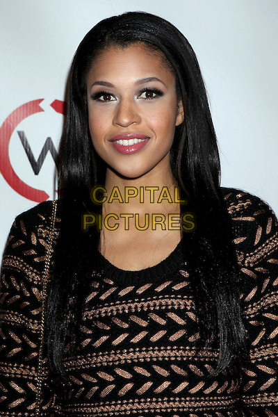Kali Hawk.Opening Of Kimberly Snyder's Glow Bio held at Glow Bio, West Hollywood, California, USA, 14th November 2012..portrait headshot brown patterned jumper sweater .CAP/ADM/RE.©Russ Elliot/AdMedia/Capital Pictures.