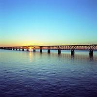 Historic Bahia Honda bridge, Florida Keys, Florida