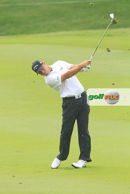 Gary Woodland (USA) on the 6th during Round 3 of the CIMB Classic in the Kuala Lumpur Golf &amp; Country Club on Saturday 1st November 2014.<br /> Picture:  Thos Caffrey / www.golffile.ie