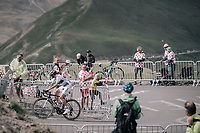 Romain Hardy (FRA/Fortuneo-Oscaro) up the highest point in the 2017 TdF: The Galibier (HC/2642m/17.7km/6.9%)<br /> <br /> 104th Tour de France 2017<br /> Stage 17 - La Mure &rsaquo; Serre-Chevalier (183km)