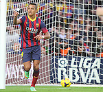 05.01.2014 Barcelona, Spain. La Liga day 18. Picture show Alexis Sanchez in action during game between FC Barcelona against Elche at Camp Nou