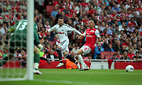 Pictured: Stephen Dobbie of Swansea City in action. Saturday 10 September 2011<br />