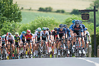 Picture by Allan McKenzie/SWpix.com - 16/07/17 - Cycling - HSBC UK British Cycling Grand Prix Series - Velo29 Altura Stockton Grand Prix - Stockton, England - JLT Condor on the front of the race.