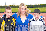 Competing at the Farranfore/Maine Valley AC open sports day in Castleisland on Sunday Johnaton Foley, Mary T Moynihan and Daniel O'Connell all Farranfore/Maine Valley    Copyright Kerry's Eye 2008