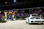 Olivier Robert of France riding Tempo de Paban competes in the Maserati Masters Power during the Longines Masters of Hong Kong at AsiaWorld-Expo on 10 February 2018, in Hong Kong, Hong Kong. Photo by Diego Gonzalez / Power Sport Images