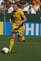 Sara Larsson, Germany 2-1 over Sweden at the  WWC 2003 Championships.