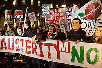 "24.11.2015 - ""Osborne's Nightmare before Christmas"" - Demo Against Autumn Statement"