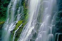 Proxy Falls<br /> Three Sisters Wilderness<br /> Willamette National Forest<br /> Cascade Range,  Oregon
