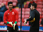 Jamal Blackman of Sheffield Utd during the Championship match at Bramall Lane Stadium, Sheffield. Picture date 30th December 2017. Picture credit should read: Simon Bellis/Sportimage