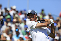 Matt Kuchar (USA) tees off the 1st tee to start his match during Friday's Round 2 of the 117th U.S. Open Championship 2017 held at Erin Hills, Erin, Wisconsin, USA. 16th June 2017.<br /> Picture: Eoin Clarke | Golffile<br /> <br /> <br /> All photos usage must carry mandatory copyright credit (&copy; Golffile | Eoin Clarke)