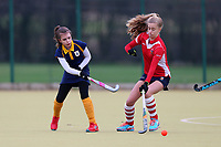 Romford HC Ladies 2nd XI vs Upminster HC Ladies 5th XI 27-01-18