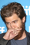 Andrew Garfield during the Photo Call for '99 Homes' at the the tiff Bell Lightbox during the 2014 Toronto International Film Festival on September 9, 2014 in Toronto, Canada.