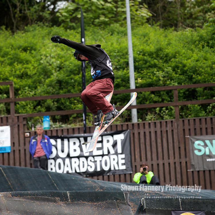 Pix: Shaun Flannery/shaunflanneryphotography.com<br /> <br /> COPYRIGHT PICTURE&gt;&gt;SHAUN FLANNERY&gt;01302-570814&gt;&gt;07778315553&gt;&gt;<br /> <br /> 6th May 2017<br /> K-Jam Freestyle Competition 2017<br /> Kendal Snowsports Club, Cumbria<br /> Mason Flannery