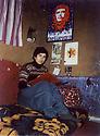 Iraq 1981 .Hatige Yachar in her house of Shene.Irak 1981.Hatige Yachar chez elle a Shene