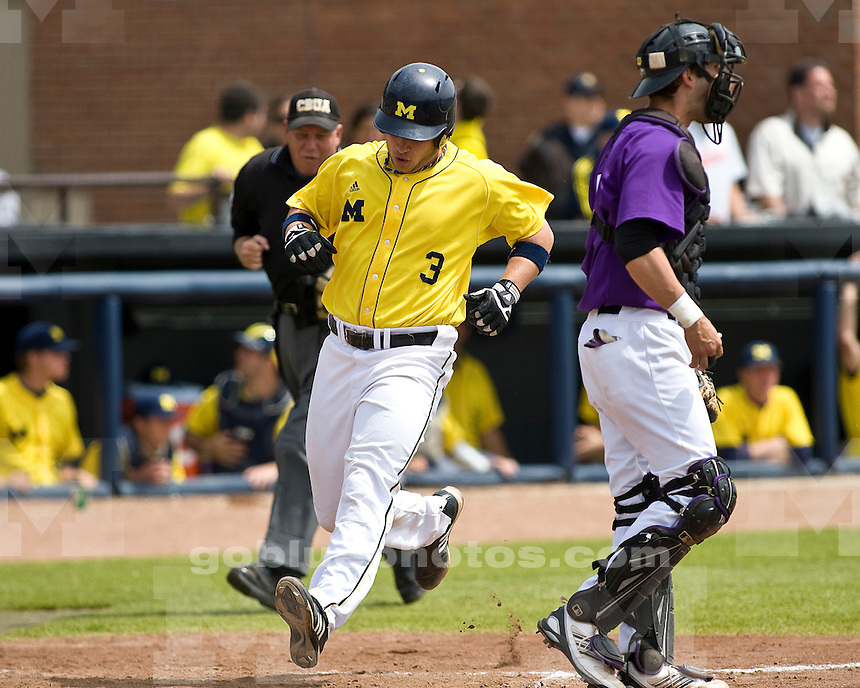 University of Michigan Baseball 15-14 win over Northwestern at the Wilpon Baseball Complex on 5/16/2010.