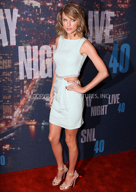 WWW.ACEPIXS.COM<br /> <br /> February 15 2015, New York City<br /> <br /> Taylor Swift arriving at the SNL 40th Anniversary Special at the Rockefeller Plaza on February 15, 2015 in New York<br /> <br /> By Line: Nancy Rivera/ACE Pictures<br /> <br /> <br /> ACE Pictures, Inc.<br /> tel: 646 769 0430<br /> Email: info@acepixs.com<br /> www.acepixs.com