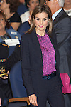 Queen Letizia of Spain attends to XXV Anniversary of the Spanish National Transplant Organisation at Healing Ministry in Madrid. October 22, 2014. (ALTERPHOTOS/Caro Marin)
