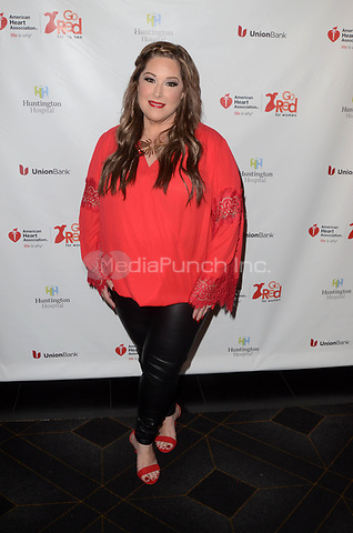 HOLLYWOOD, CA - MAY 17: Carnie Wilson at the American Heart Association's 3rd Annual Rock The Red Music Benefit at Avalon in Hollywood, California on May 17, 2018. Credit: David EdwardsMediaPunch